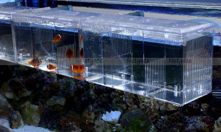 Aquarium external hang on multi functional divider tank for Fish tank divider 55 gallon